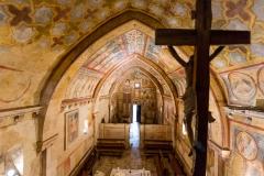 Romano Paolini: Caporcino (Aq): Oratorio di San Pellegrino e Santa Maria Assunta a Bominaco